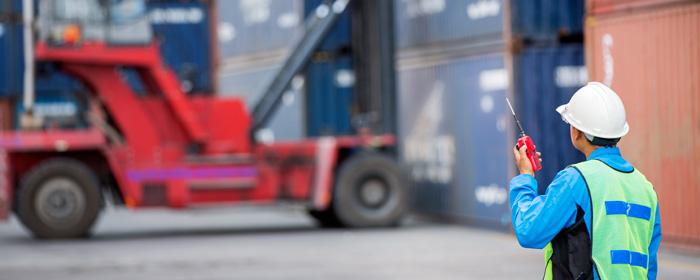 Controllo merci e camion